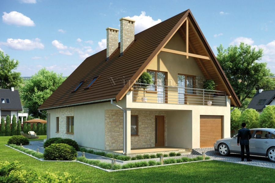 Проекты домов и коттеджей до 150 м2 с фото и ценами